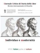 Giornale Critico Di Storia Delle Idee No. 1/2009 [ITA]