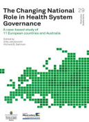 The Changing National Role in Health System Governance [Audio]