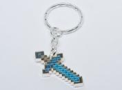 Minecraft - Diamond Sword Keychain