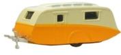 oxford orange and cream caravan 1.76 scale diecast model