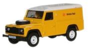 Oxford Diecast Yellow British Rail Land Rover Defender - 1/76 Diecast Model