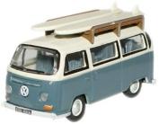 Fjord Blue/Arcona white VW minibus