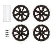 Parrot AR.Drone 2.0 Gears With Shafts and Circlips Set