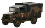 Oxford Diecast British Army Mickey Mouse Bedford MWD - 1/76 OO Scale Diecast Model