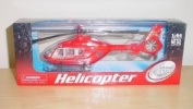 20cm Diecast Metal Helicopter 1:64 Scale