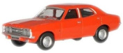 Oxford Diecast Ford Cortina Mk7.6cm Sebring Red - 1/76 OO Scale Diecast Model