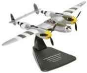 Oxford Diecast P-38 J Lightning - 1/72 Scale Diecast Model