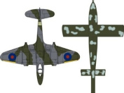 Oxford Diecast Gloster Meteor plus Doodlebug - 1/72 Scale Diecast Model