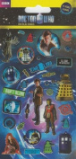 Official Dr Who Sticker Pack - Small Foil Sticker Pack
