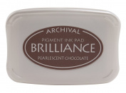Brilliance Pigment Inkpad-Pearlescent Chocolate
