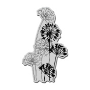 Stampendous Cling Rubber Stamp 14cm x 11cm Sheet-Agapanthus Cluster