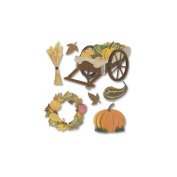 Jolee's Boutique Dimensional Stickers-Pumpkin Harvest