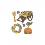 Jolee's Boutique Dimensional Stickers-Pumpkin Harvest
