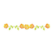 Sizzix Sizzlits Decorative Strip Die 32cm x 6cm -Rose Vine