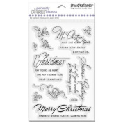 Stampendous Perfectly Clear Stamp Set, Christmas Wishes