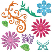 Spellbinders Shapeabilities Dies, Jewel Flowers And Flourishes