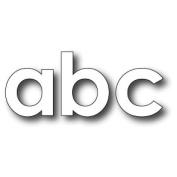 Memory Box Die - Large Parker Lower Case Alphabet