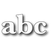 Memory Box Die, Large Classic Lower Case Alphabet
