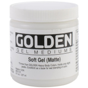 Pro-Art Golden Soft Gel Matte, 240ml