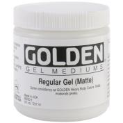 Golden Regular Matte Gel Medium-240ml