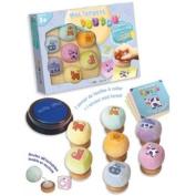 Box stamp cuddly toy
