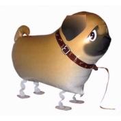 Pug Walking Pet Dog Birthday Party Balloon Airwalker Boy Girl Gift