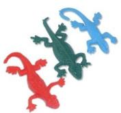 Stretchy lizard party bag toy x 6