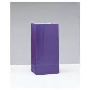 Deep Purple Paper Party Bags