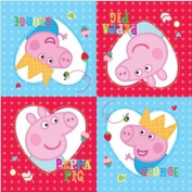 New Peppa Pig Party Range - Peppa Pig Party Napkins x 16
