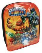Skylanders Giants Orange School Bag Backpack Rucksack Book Bag Shoulder Bag Travel Bag 1007