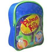 PHINEAS AND FERB KIDS BOYS PADDED SCHOOL NURSERY BACKPACK RUCKSACK TRAVEL BAG