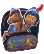Mike The Knight ~ Galahad the Horse Sparkie and Squirt the Dragons School Backpack / Rucksack 3D Picture