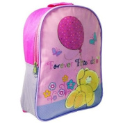 FOREVER FRIENDS GIRLS SCHOOL NURSERY BACKPACK RUCKSACK TRAVEL BAG PINK NEW