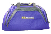 Ladies Extra Large Purple Holdall Bag for Sports Travel School Etc.