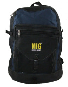 Large Black and Navy Backpack Rucksack Bag, Sports, Holidays, Hiking, School Etc.