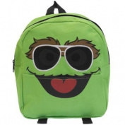 Old Glory Unisex-Child Sesame Street - Oscar Aviator Glasses Mini Backpack