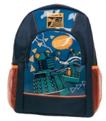 Dr Who - Backpack with Front and side Mesh Pockets School Bag / Rucksack