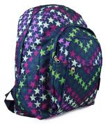 Womens Girls Stars Emo Tattoo School College Work Rucksack Backpack Bag