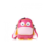 Navigate Owl Lunch Pack Bag - Pink