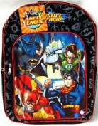 Justice League Batman, Superman, Flash, Green Lantern School Backpack