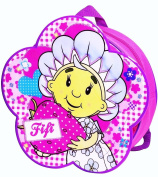 Fifi and the Flowertots - Gorgeous Pink and Purple Heart and Strawberry Design Backpack / Rucksack School Bag