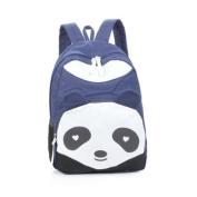 Zehui Women's Panda Style Backpack School Bags Canvas Bookbag Rucksack