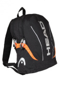 HEAD Centaur Backpack - Black/White/Orange
