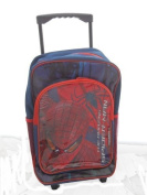 THE AMAZING SPIDERMAN TROLLY BAG WITH WHEEL