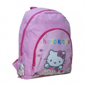 41cm HELLO KITTY CUPCAKE GIRLS EXTRA LARGE PINK BACKPACK RUCKSACK SCHOOL BAG NEW