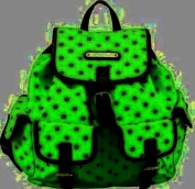 Ladies Anna Smith Retro Polka Dots Spot Backpack Rucksack School LYDC Hand Bag