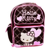 Black and Pink Hello Kitty Full Size Backpack - 41cm Hello Kitty School Bags .