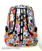 XIAOMEI Colourful Cartoon A4 Backpack 8130D for Travel, Holiday, School or College etc.