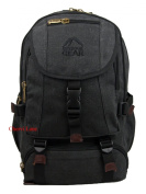 Brand New Mens Womens 33cm 39cm Padded Canvas Laptop Backpack Rucksack Bag