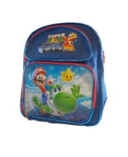 Super Mario Galaxy Small BackPack - Mario and Yoshi Small School Bag